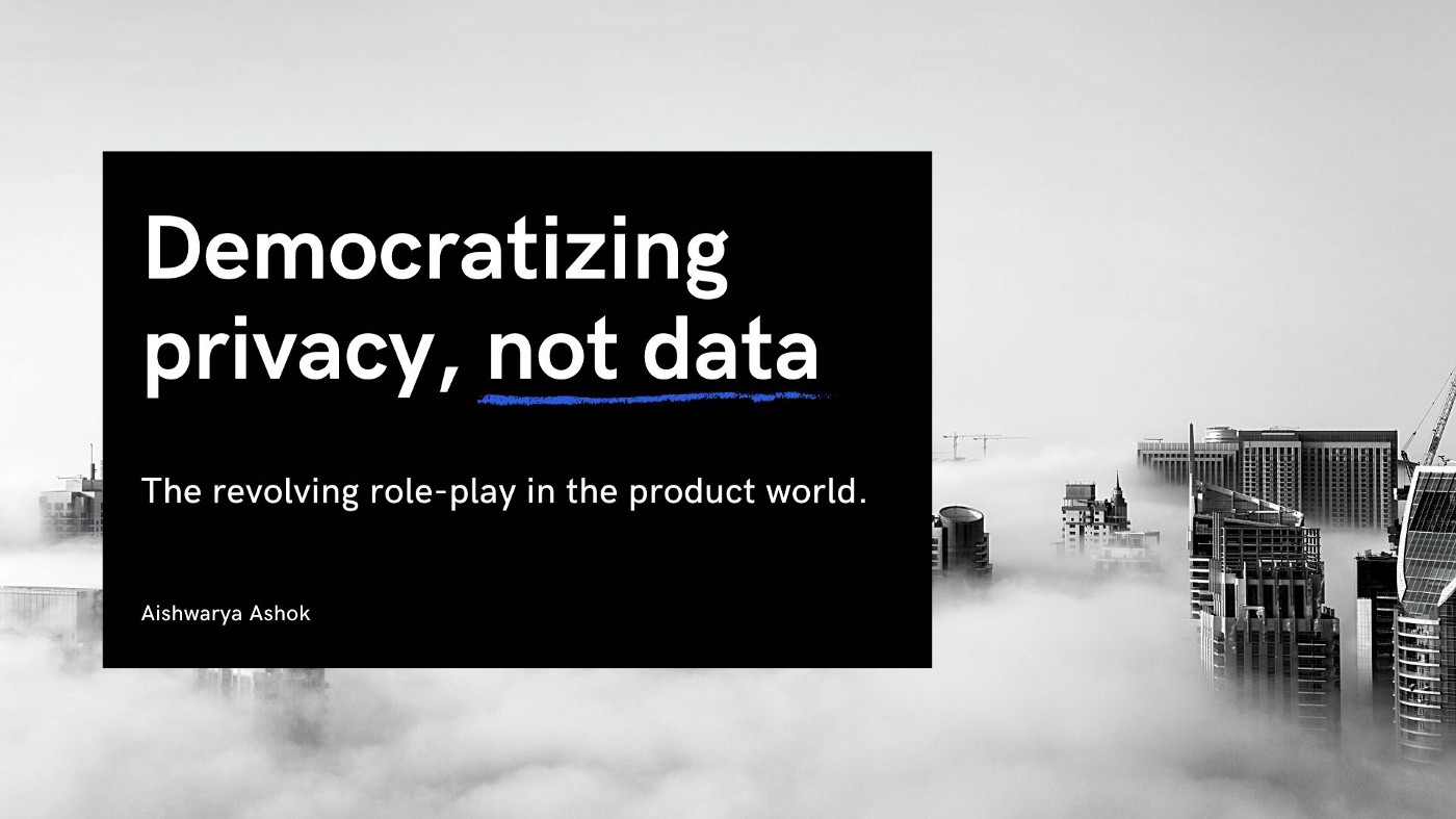 data privacy and products